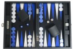 Backgammon BUFFALO B20L Anthracite Medium, Alcantara, Hector Saxe, Paris Image 3