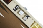 Backgammon CARBONE B21L Sable Medium, Alcantara playground, Hector Saxe, Paris Image 3