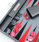 Backgammon COSMOS B49L Gris Medium, Alcantara, Hector Saxe, Paris Image 2