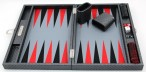 Backgammon COSMOS B49L Gris Medium, Alcantara, Hector Saxe, Paris Image 3