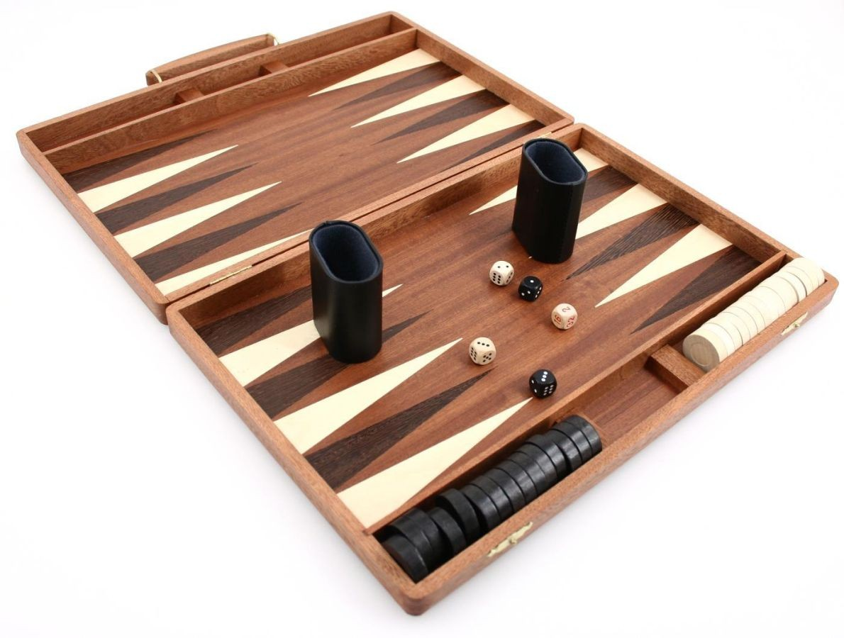 edelholz backgammon koffer mahagoni weible klassische spiele backgammon holzbackgammon. Black Bedroom Furniture Sets. Home Design Ideas