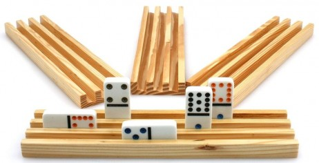 Domino Rails (4 pieces) from solid wood