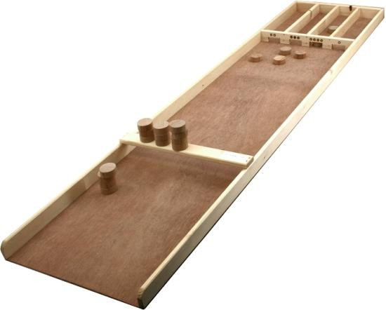 sjoelbak junior aus holz kleines dutch shuffleboard klassische spiele geschicklichkeitsspiele. Black Bedroom Furniture Sets. Home Design Ideas