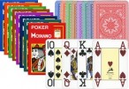 POKER von MODIANO, 100% plastic, 4 Jumbo Index, ohne Rand!