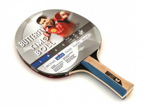 Timo Boll Silver - Edition, Table-Tennis-Bat from Butterfly