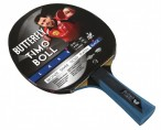 Timo Boll Black - Edition, Table-Tennis-Bat Butterfly with engravement Image 3