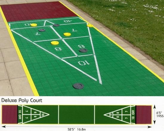 shuffleboard deluxe court ohne zubeh r outdoor sport spiele original shuffleboard original. Black Bedroom Furniture Sets. Home Design Ideas
