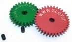 Diagonal gear wheel for Anglewinder for 3/32 (Durchm. 2,38 mm), Slot.it
