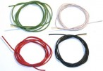 Silicone engine cable hochflexibel 0,25 qmm for Slotcar, Made in Germany